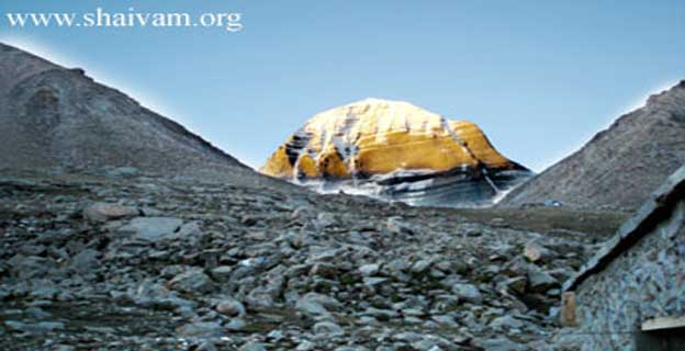 The Holy Mount Sri Kailash; North-Face