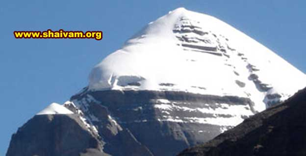 The Holy Mount Sri Kailash; South-West Face