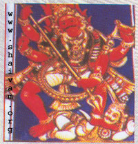 vIrabhadra - Form of Lord civa