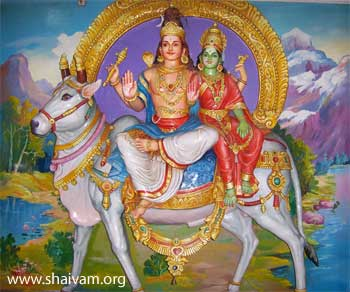 Rishabh arudar - dharma bull as vehicle of Lord Shiva