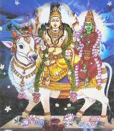 Risabarudar - Lord shiva on the bull