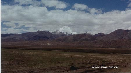 The First Sight of Mt Kailash