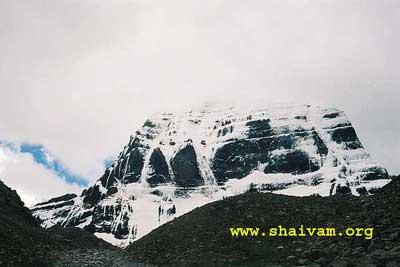 The Majasty - North face of Kailash