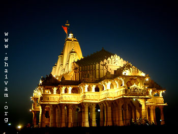 Somnath Temple Well lit