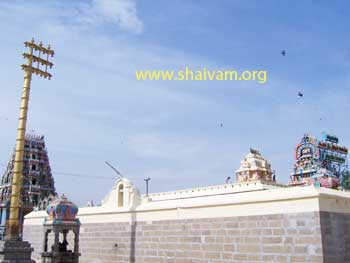Tiruvirkolam Temple full view